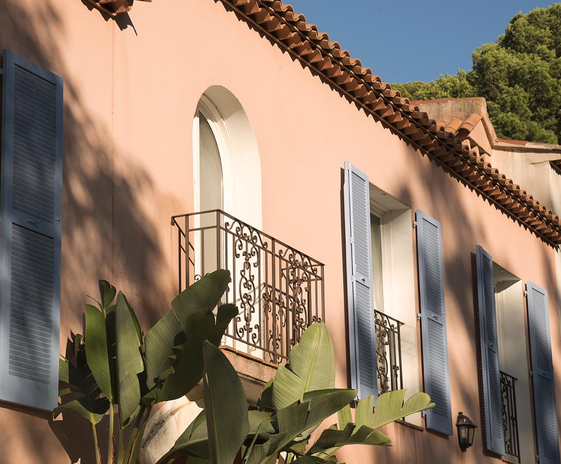 Villa sainte anne porquerolles, facade